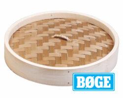 Låg til bambus steamer - 10 cm-0