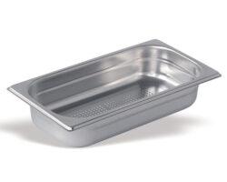GN kantine perforeret rustfri stål GN 1/3 - 100 mm.-0