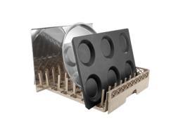 Opvaskekurv bakker - 500x500x80 mm.-0