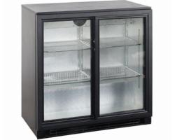 Køleskab Display Backbar 2 skydedøre-13125
