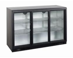 Køleskab Display Backbar 3 skydedøre-0