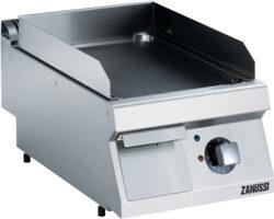 Zanussi stegeplade glat/krom 400 mm-0