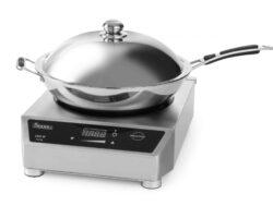 induktionskogeplade med wok