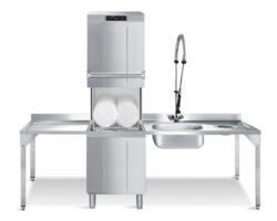 SMEG Hætteopvaskemaskine TopLine HTY 520D med skyllepumpe (HTR)-16865