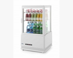 Displaykøleskab 58 liter - hvid-0