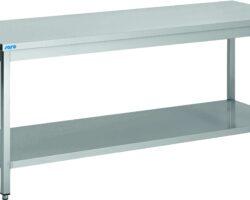 Arbejdsbord med underhylde - 200 cm-0